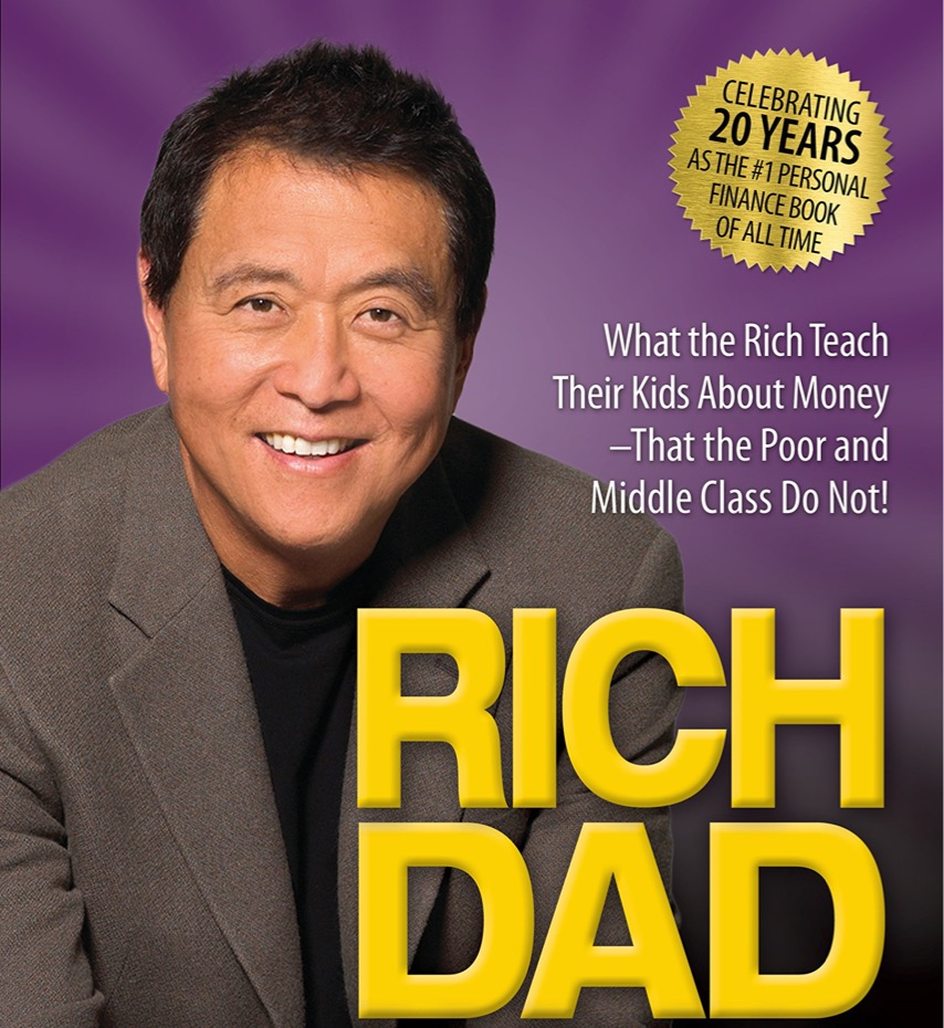 Rich Dad Poor Dad - book cover