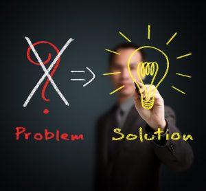not problem but solution