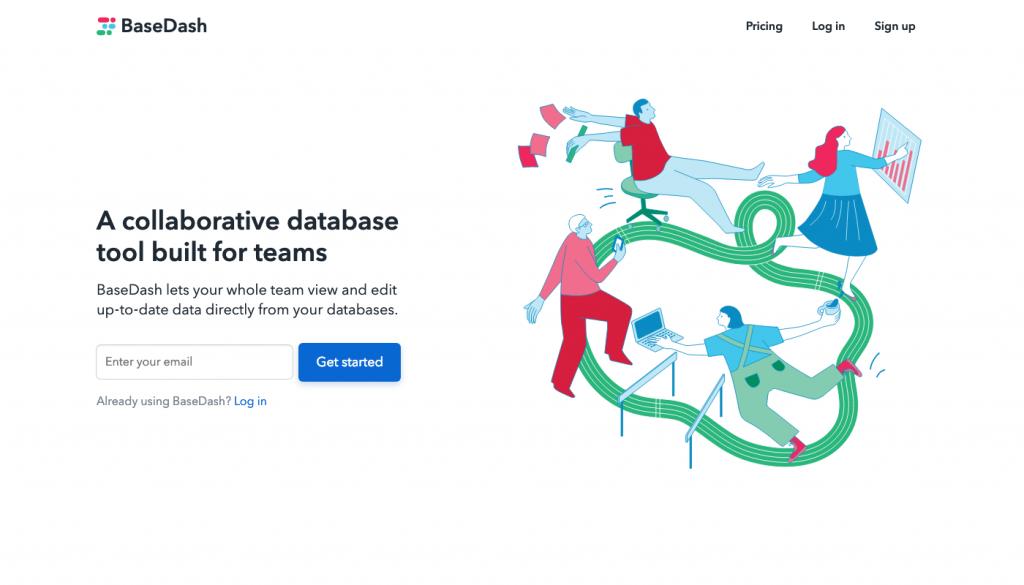BaseDash - A collaborative database tool built for teams